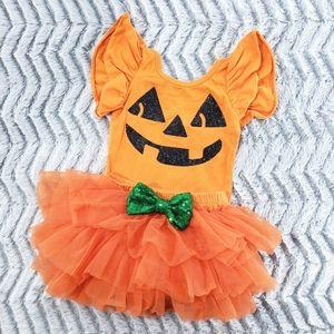 Lily & Max. 2pc Pumpkin Tutu Set